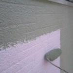 モルタルの外壁に高耐久のセラミシリコン塗装 東大阪市 S様邸
