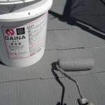 遮熱性トップクラスのガイナ塗装で屋根の暑さ対策 大阪府寝屋川市