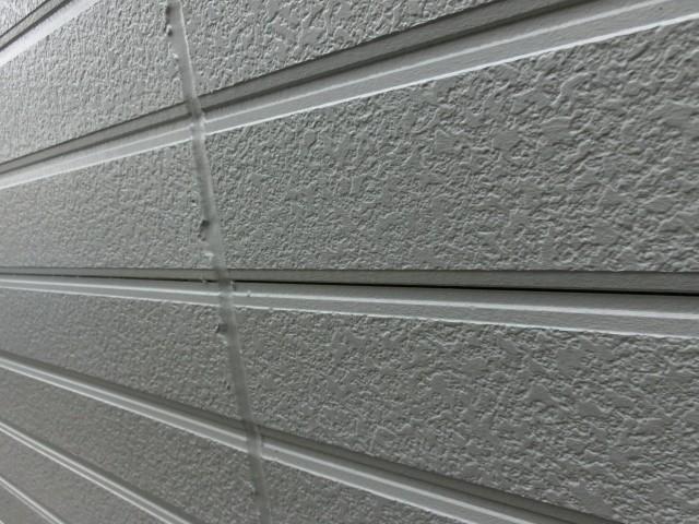 塗装完了後の外壁サイディング