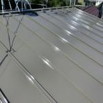 宝塚市にある築30年のトタン屋根の塗り替え