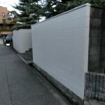 ブロック塀を補修して明るいベージュ色に塗装 宝塚市