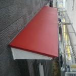 外壁塗装と同時に雨戸・ひさしを塗装 奈良市